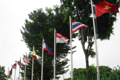 ASEAN Country Flags