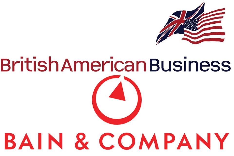 BAB and Bain and Co logos