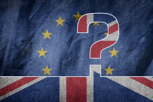 EU UK Question Mark