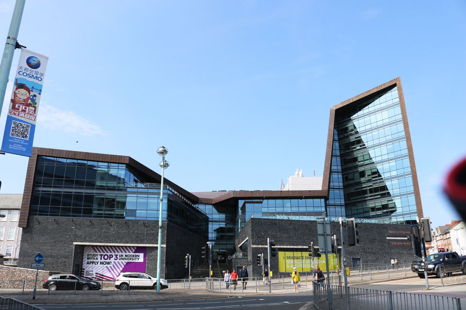 Roland Levinsky Building of Plymouth University
