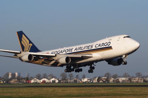 Singapore Airlines Cargo Jet