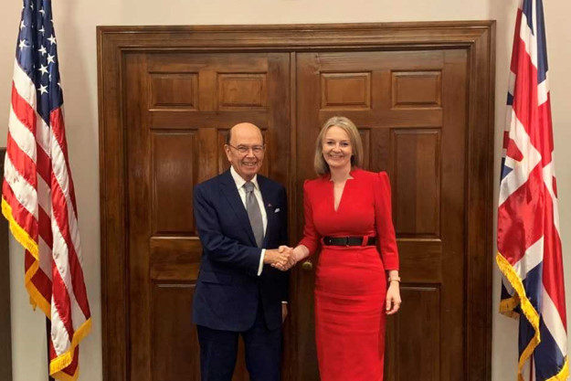 Wilbur Ross and Liz Truss